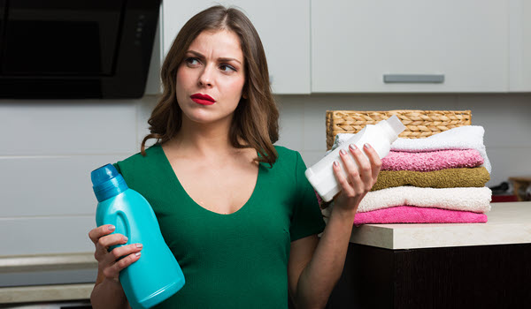 Do Your Laundry With Green Cleaning Products